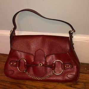 Vintage Gucci Purse Red